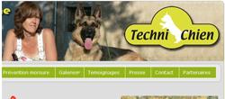 Site web techni-chien